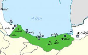 نقشه پوشش